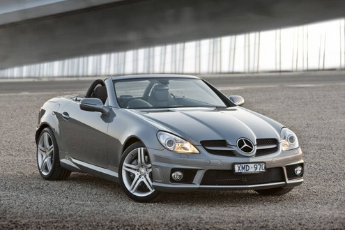 Mercedes slk 300 launched in down under for 2010 mercedes benz slk300