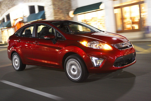 2011 ford fiesta at 2011 Ford Fiesta 40 MPG Fuel Economy Confirmed