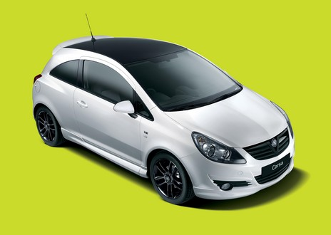 Limited Edition Vauxhall Corsa Black & White corsa black white
