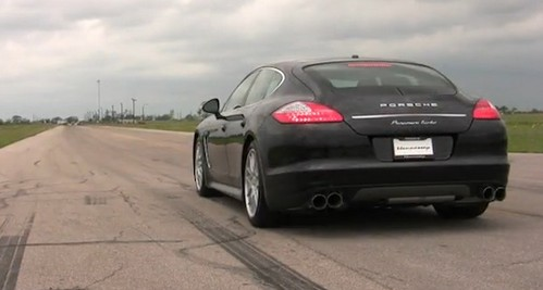 Porsche Panamera Turbo Black. Porsche Panamera Turbo By