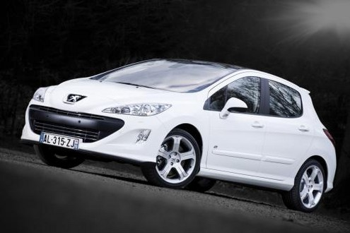 2011 peugeot 308 gti with 200 hp