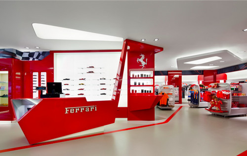 The Ferrari Store development
