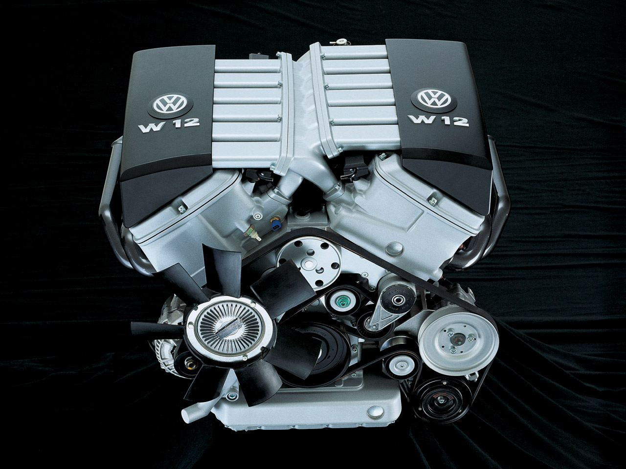VW W12 Engine at...W12