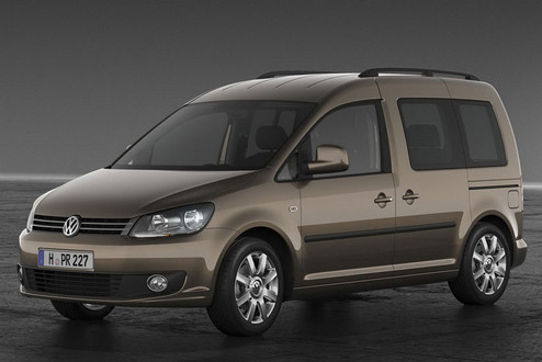 2011 Volkswagen Caddy Van Revealed 2011 VW Caddy 2