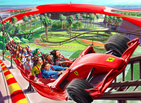 Ferrari World Abu Dhabi Teased   Opens in 100 Days Ferrari World Abu Dhabi 1