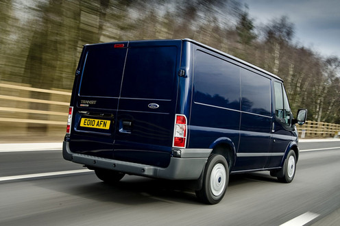 Ford Transit Celebrates 45th Birthday With Sapphire