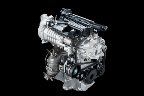 Nissan Introduces New 3 Cylinder Supercharged Engine