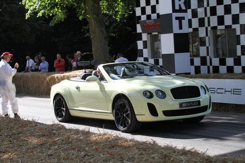 2010 Bentley Supersport on Bentley Continental Supersports Convertible Bentely Supersport
