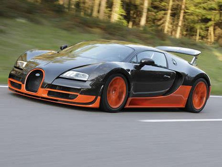 Bugatti Veyron on First Pictures  1200 Hp Bugatti Veyron Supersport   Motorward