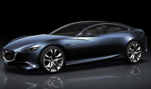 Auto Design: Upcoming 2013 Mazda Shinari Cars
