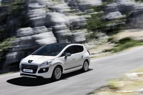Peugeot 3008 White. 2011 Peugeot 3008 HYbrid4