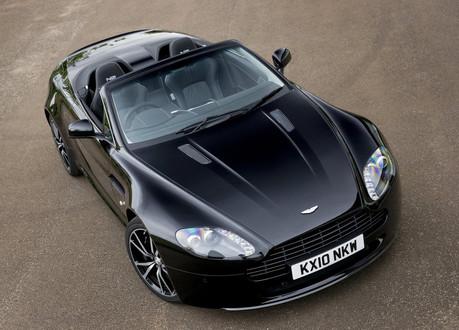 Aston Martin Vantage V8 Convertible. Aston Martin V8 Vantage N420