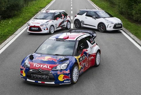 It's the Citroen DS3 WRC, and when it reports to duty in 2011 season,