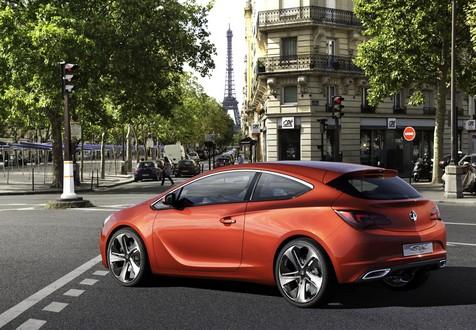Opel Vauxhall Gtc Concept Previews Next Astra 3 Door