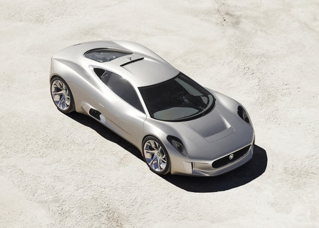 Jaguar C X75 2 at Jaguar CX 75 Hybrid Supercar Production Confirmed