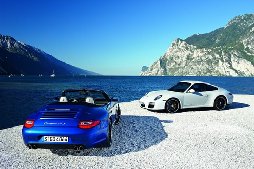 Porsche 911 Carrera GTS Unveiled Porsche 911 Carrera GTS 1