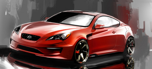 ark hyundai genesis coupe 3 8 track time attack. Black Bedroom Furniture Sets. Home Design Ideas