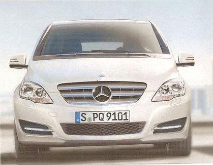 2012 Mercedes B Class Facelift Leaked? mercedes b class facelift 1