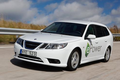 2010 Saab 9 3 Epower Concept. Saab 9 3 ePower Concept saab e