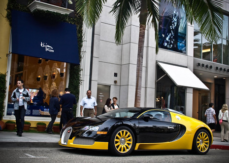 Bijans Black and Yellow Bugatti Veyron Bijan bugatti 4