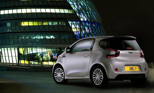 Aston Martin Cygnet Confirmed For Production aston cygent london