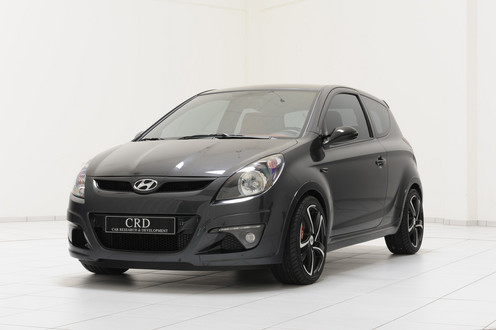 hyundai i20 sport edition by brabus. Black Bedroom Furniture Sets. Home Design Ideas