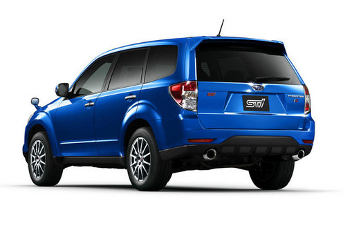 2010 Subaru Forester Sti. Subaru Forester tS STi Limited