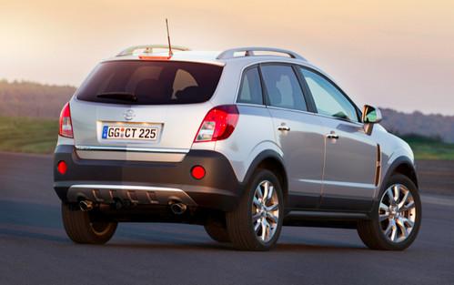Opel Antara White. 2011 Opel Antara Facelift 2011