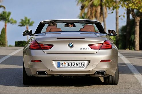 2011 BMW 6 Series Convertible