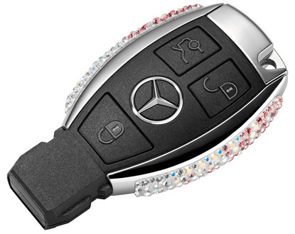 Swarovski mercedes key fobs for Mercedes benz key fob