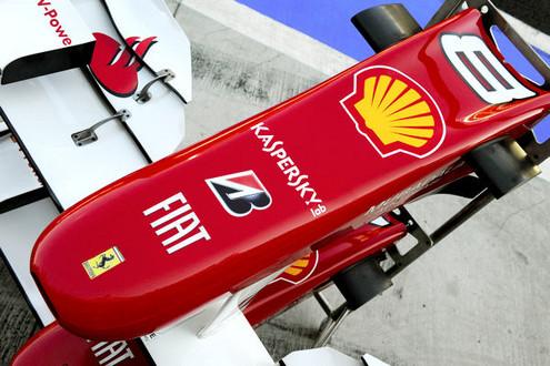 Ferrari F1 Protected By Kaspersky Lab! kaspersky ferrari f1
