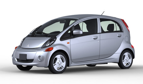 mitusbishi imiev us 1 at US Spec Mitsubishi i MiEV Debuts In Los Angeles