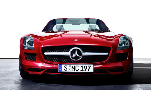 mercedes sls rds at Mercedes SLS AMG Roadster To Debut at 2011 IAA