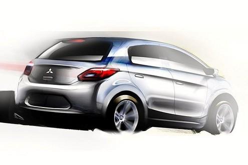 mitusbishi global car 2 at Mitsubishi To Build Global Small Car In Thailand
