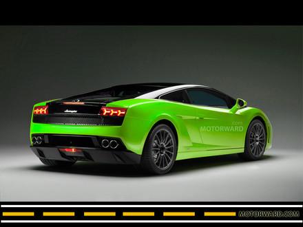 Lamborghini Gallardo Green Black