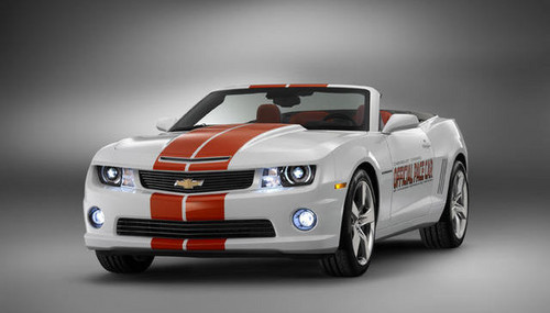 2011 Camaro SS Convertible Indy 500 Pace Car camaro ss indy pace 1