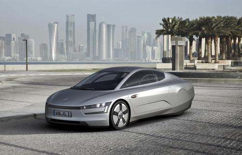 Volkswagen XL1 Concept Revealed In Qatar vw xl1 1