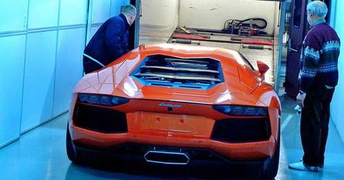 Lamborghini Aventador LP700 4: New Leaked Pictures  aventa 5