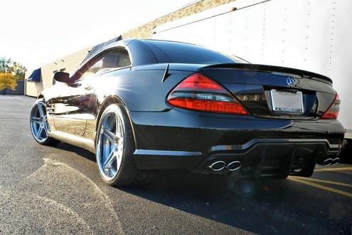 Speedriven mercedes sl600 cng for Mercedes benz sl600 v12 biturbo