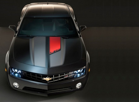 Camaro Motor on Chevrolet Is Giving Us A Preview Of The 2012 Camaro With The 45th