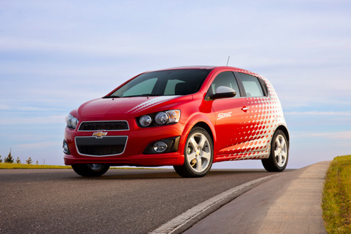 Chevrolet Sonic Ltz. Chevrolet Sonic Z Spec