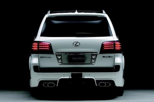 wald lexus lx570 5 Wald Lexus LX570 Black Bison