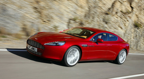 Aston Martin Rapide at 510 hp Aston Martin Rapide S In the Works