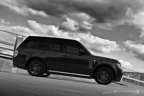 Project Kahn Range Rover Black Vogue