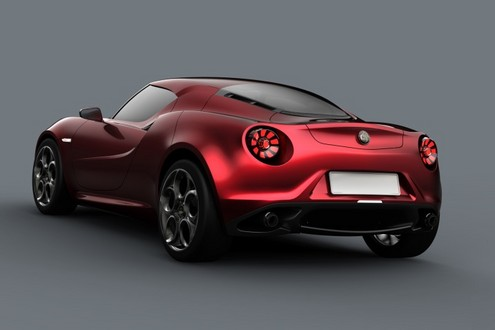 Mille Miglia 2011 alfa 4c at Alfa Romeo 4C Concept To Appear At Mille Miglia 2011