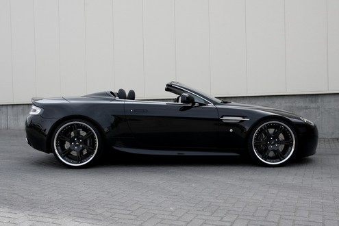 Aston Martin Vantage Black. Aston Martin Vantage By