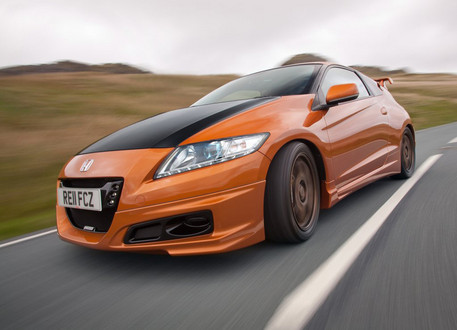 Honda Cr Z Mugen Revealed Further