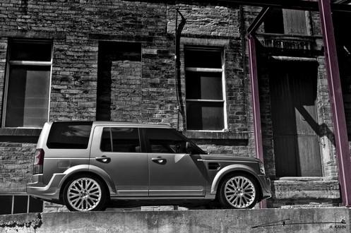 Kahn Design Land Rover Discovery Lr4