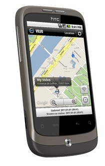 vovlo app at Smartphone App To Remotely Control Your Volvo