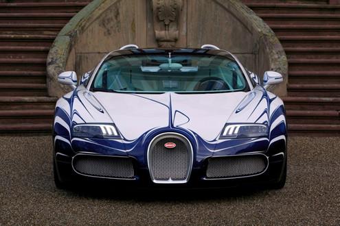 Jay Leno Checks Out Bugatti Veyron L Or Blanc Video